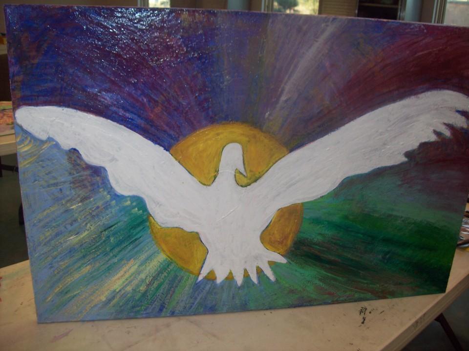 AJ's painting