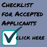 Checklist for Accepted Applicants