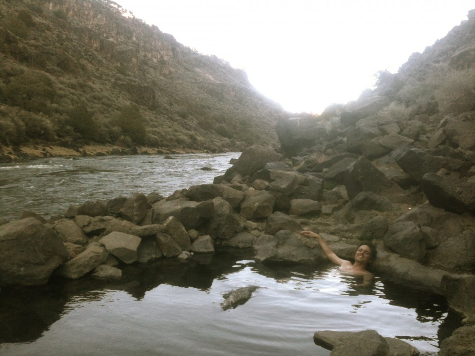 Hot Springs next to the Rio Grande