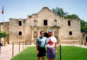Jim and Al Alamo