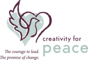 logo creativity for peace