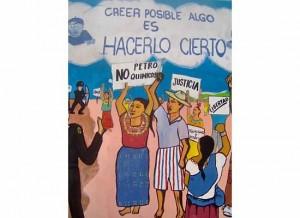 Guatemala mural